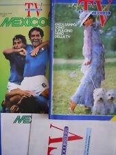TV Radio Corriere n°20 1986 con inserto MEXICO 1986 + Poster + programma [C69]