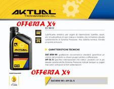Olio Transmission Aktual SAE 80w-90 API GL 5 (OFFERTA X4) qualità pretonas