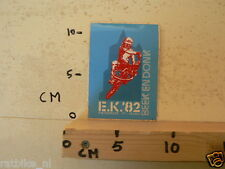 STICKER,DECAL BMX FIETSCROSS EK 1982 BEEK EN DONK A