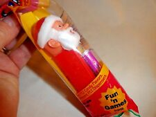 Vintage Santa Claus Pez Dispenser ~ Santa With Feet ~ New In Package ~ Perfect