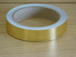 Gold Mirror Tape - Self Adhesive - Hoop Tape - Lures