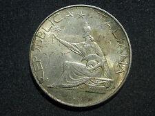 ITALIA ,  500 LIRAS DE 1961 , PLATA