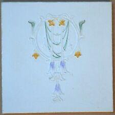 ALFRED MEAKIN - ANTIQUE ART NOUVEAU MAJOLICA TILE C1900