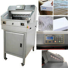 18 Guillotine Machine Stack Paper Cutter Power Off Protection Infrared 110v
