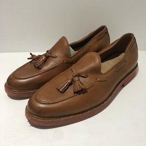 Polo Ralph Lauren leather slip on tassel loafer shoes UK 9 EU 43 VGC Tankersley