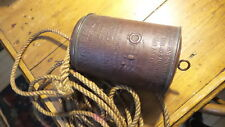 Antique WATER LIGHT, RES-Q-LITE, Marine Torch Co., Baltimore, MD, Copper,Nautica
