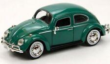 1/24 Scale 1966 Volkswagen Beetle Green Diecast Motor Max