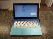 "13"" HP Stream 13-c002dx Laptop Touch Intel Celeron N2840 2.16 GHz 2GB RAM No HDD"