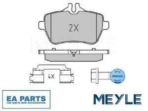 Brake Pad Set, disc brake for MERCEDES-BENZ MEYLE 025 250 7119