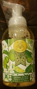 Michel For Body and Soul Herbal Citrus Foaming Liquid Hand Soap 16.9 oz