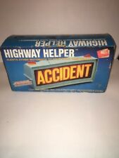 Vintage Light Up Roadside Help Sign