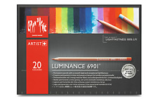 Caran d'Ache Luminance 6901 20 Colour Pencil Set Paper Box Creative Art Material