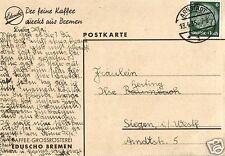 5664/ Werbekarte, Eduscho Kaffee, 1935