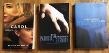 Lot of 3 Patricia Highsmith Books Blunderer Strangers on a Train Price of Salt