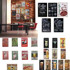 "Retro Metal Tin Sign Poster Plaque ""BEER"" Bar Pub Club Wall Cafe Home Decoration"