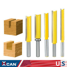 Extra Length Straight Router Bit Kit Carbide Cnc Cutting Cutter Tool 8mm Shank