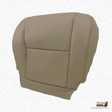 FrontDriver Bottom Tan Leatherette Seat Cover For 2006 Toyota Tundra Limited SR5