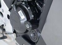 R&G Black Crash Protectors - Aero Style for Honda CBR500R 2013