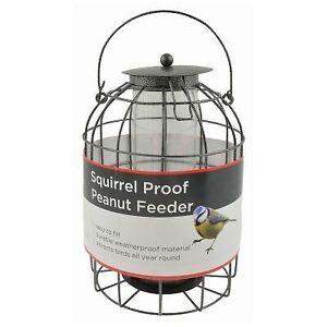 Wild Bird Hanging Squirrel Proof Guard Peanut Feeder Bird Food