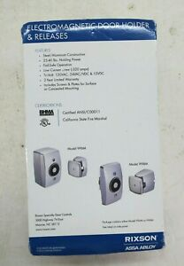 Rixson Assa Abloy 996M Wall Mounted Electromagnetic Door Holder & Release, 120V
