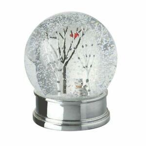 Heaven Sends Cat and Tree Christmas Snowglobe - Friend`s Christmas Gift Idea