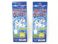 "Gayla USAF Thunderbirds Foam Gliders 6.5"" Wingspan 7.77"" Length 2 Count"