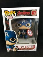 Marvel Avengers Age Of Ultron Captain America Vinyl Funko Pop
