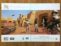 Star Wars: Galaxies PC 2003 Vintage Print Ad/Poster Art Official Big Box Promo