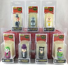 Pin Mates Set of 7 1966 Batman TV Series Villians DC Comics Wooden Figures NEW