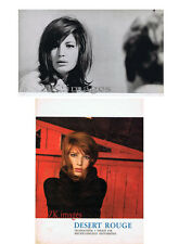 DESERT ROUGE Monica VITTI ANTONIONI Deserto rosso Photo + Pub 1964