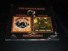 CD.THE SAVAGE ROSE.SAME/INTHE PLAIN. 1968. JAZZ PROG SOUL DANOIS.DIGIPACK .NEUF