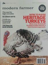 Modern Farmer Winter 2016 2017 How to Raise Heritage Turkeys FREE SHIPPING sb