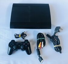 Sony PlayStation 3 SuperSlim 500GB Console / Tested Good Condition 2 Free Games