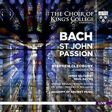 James Gilchrist - JS Bach St John Passion [CD]