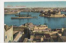 Malta, Grand Harbour Postcard, B145