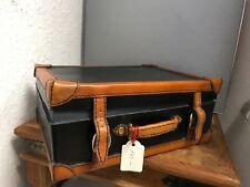 Leder Koffer 21,5 cm. Top Zustand