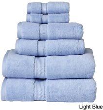 Light Blue 900 GSM Egyptian Cotton 6-piece Towel Set Soft Absorbent Bathroom
