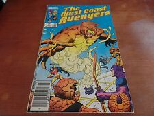 The West Coast Avengers #6 Marvel Comic Book #C43