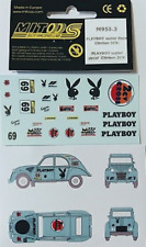 Mitoos M955.3 Playboy Waterslide Decals Citroen 2CV New
