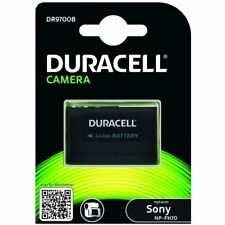 Duracell Sony NP-FH60 NP-FH70 CamcorderRechargable Battery New UK DR9700B