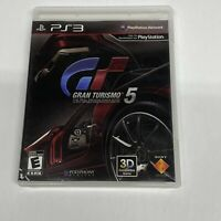 PS3 Game Gran Turismo 5 Sony PlayStation 3 Car Driving Racing Simulator Rated E
