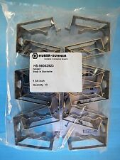 """Huber + Suhner 98002923 1-5/8"""" Stackable Snap In Hangers for Coax Cable QTY 100"""