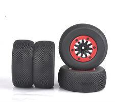 4Pcs Bead-Loc Short Course Tire Wheel Rim For HSP HPI 1:10 TRAXXAS Slash RC Car