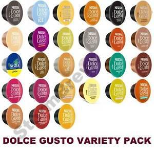 NESTLE DOLCE GUSTO CAPSULES VARIETY SELECTION TASTER PACK. 27 BLENDS (37 PODS)