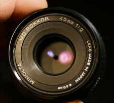 Minolta Rokkor MD 45mm 2.0