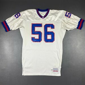100% Authentic Lawrence Taylor Apex One 1993 Giants Game Jersey Size 46 Long