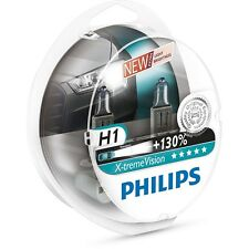 PHILIPS X-TREME VISION 12V 55W H1 HALOGENLAMPE +130% (2ER) 12258XV+S2