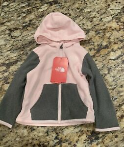 NWT 18M Months Infant The North Face Glacier Hoodie Purdy Pink