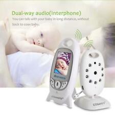2.4GHz Wireless Digital Baby Monitor Camera Audio Video Night Vision Alarm EU GA