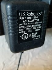 US ROBOTICS T41091000U AC-AC ADAPTER TRANSFORMER 9V AC 1A 1000mA